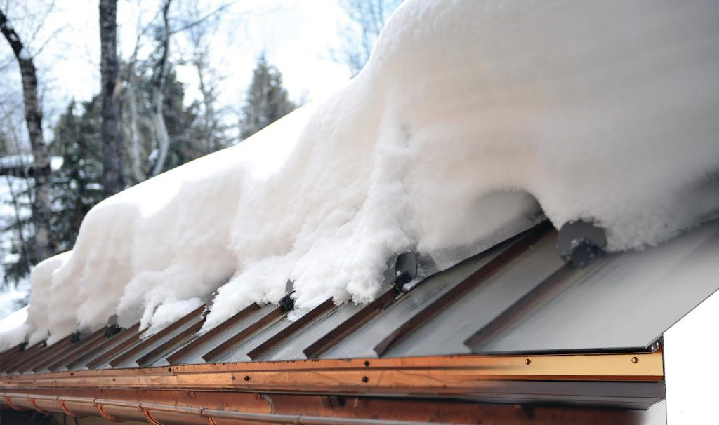 He Only UL Approved Roof Edge Ice Melt System (HotEdge RailT) Is Installed  Here