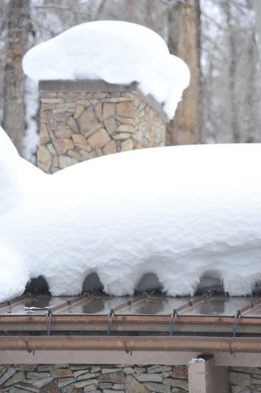 Remove Ice Dam On Steel Shingles Photo Gallery Hotedge