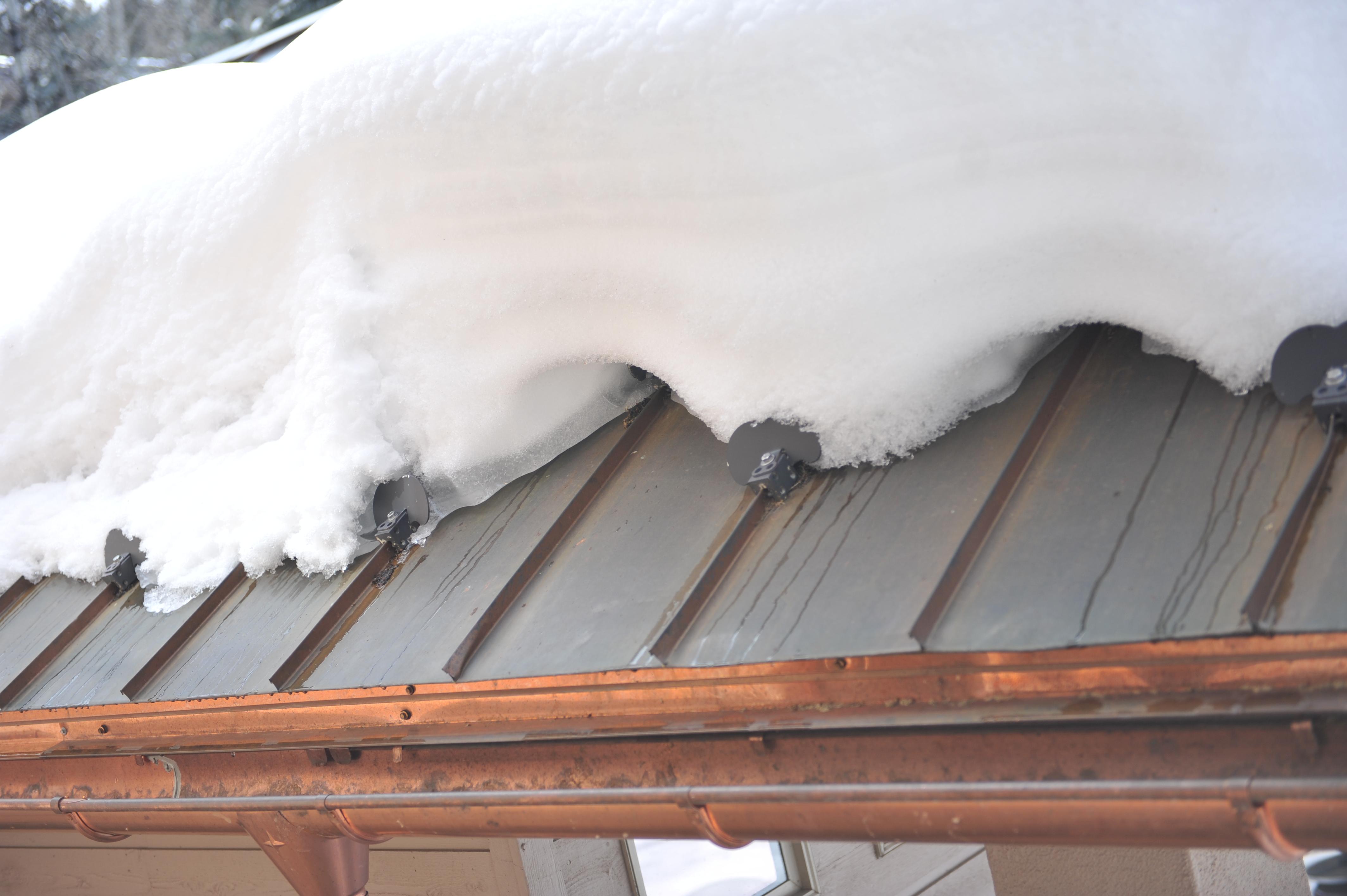 Corrugated Metal Heated Roof Photos Roof Ice Melt