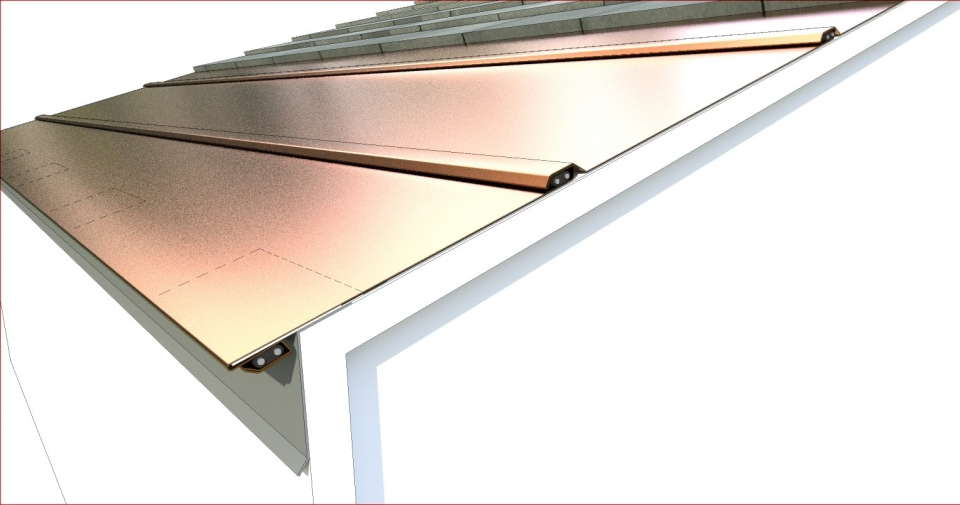Ice Melt Prevention For Concrete Tile Roof Edges