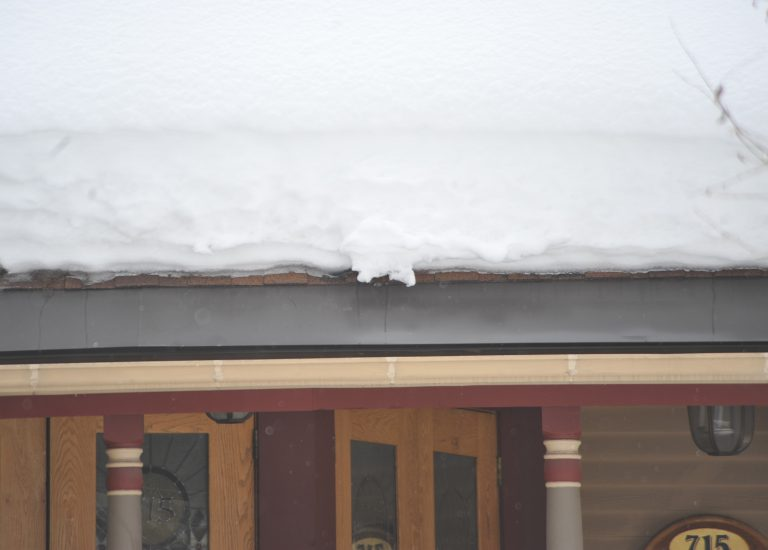 Energy Efficient And Easily Installed Roof Edge Ice Melt